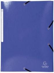 Sammelmappe Iderama - A4, mit Gummizug, dunkelblau