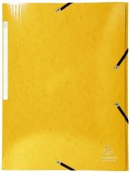 Sammelmappe Iderama - A4, mit Gummizug, gelb