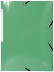 Sammelmappe Iderama - A4, mit Gummizug, dunkelgrün
