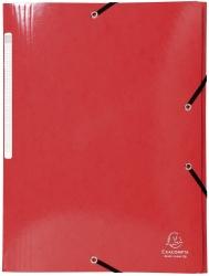 Sammelmappe Iderama - A4, mit Gummizug, rot