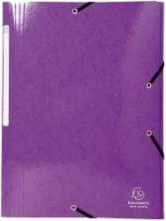 Sammelmappe Iderama - A4, mit Gummizug, violett