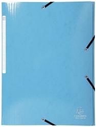 Sammelmappe Iderama - A4, mit Gummizug, hellblau