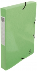 Archivbox Iderama - A4, 40 mm, mit Gummizug, hellgrün