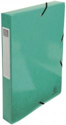 Archivbox Iderama - A4, 40 mm, mit Gummizug, dunkelgrün