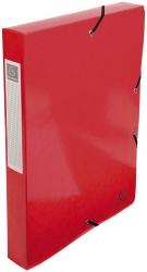 Archivbox Iderama - A4, 40 mm, mit Gummizug, rot
