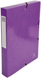Archivbox Iderama - A4, 40 mm, mit Gummizug, violett
