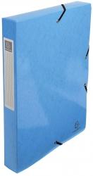 Archivbox Iderama - A4, 40 mm, mit Gummizug, hellblau