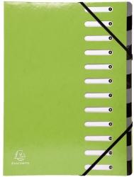 Ordnungsmappe Iderama - 12 Fächer, hellgrün