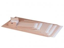 Klassische Versandverpackung zum Wickeln 251x165x60 mm (A5+), braun