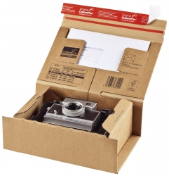 Paket Versandkarton 365 x 235 x 120 mm, braun