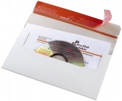 CD-Brief DIN lang aus stabiler Vollpappe ohne Fenster, ohne Abheftlasche