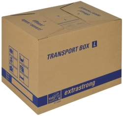 Transportboxen 500x350x355 mm, braun