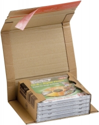 Klassische Versandverpackung zum Wickeln 270x190x80 mm (B5), braun