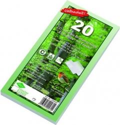 Briefumschlag Envirelope, DIN lang, haftklebend, 75 g/qm, mit Fenster, 20 Stück
