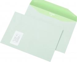 Kuvertumschlag Envirelope C4 , gummiert, 90 g/qm, mit Fenster, 500 Stück