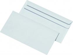 Briefumschläge DIN lang (220x110 mm), ohne Fenster, selbstklebend, 72 g/qm, 1.000 Stück