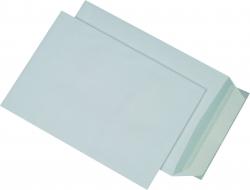 Versandtaschen Recycling - B5, ohne Fenster, haftklebend, 90g/qm, weiß, 500 Stück