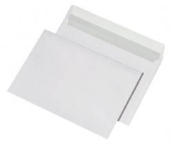 Versandtaschen C5 , ohne Fenster, haftklebend, 100 g/qm, weiß, 500 Stück
