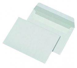 Briefumschläge C6 (162x114 mm), ohne Fenster, haftklebend, 80 g/qm, 1.000 Stück
