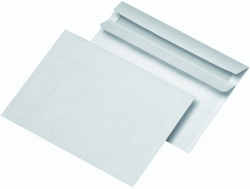 Briefumschläge C6 (162x114 mm), ohne Fenster, selbstklebend, 72 g/qm, 1.000 Stück