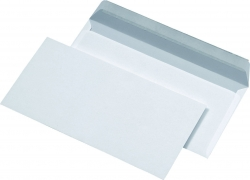 Briefumschläge DIN lang (220x110 mm), ohne Fenster, haftklebend, 80 g/qm, 1.000 Stück