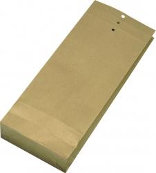 Musterbeutel 120x305x50 mm, 120 g/qm, braun, 250 Stück