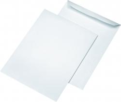 Versandtaschen B4, ohne Fenster, selbstklebend, 120 g/qm, weiß, 250 Stück