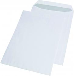 Versandtaschen C4 , ohne Fenster, selbstklebend, 100 g/qm, weiß, 250 Stück