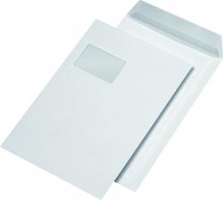 SECURITEX® Versandtasche C4, mit Fenster, 130 g/qm, haftklebend, 100 Stück