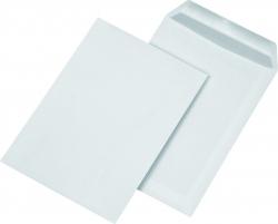 Versandtaschen C5, ohne Fenster, selbstklebend, 90 g/qm, weiß, 500 Stück