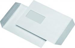 Versandtaschen C5, mit Fenster, selbstklebend, 90 g/qm, weiß, 500 Stück
