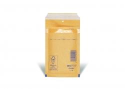 Luftpolstertaschen Nr. 1, 100x165 mm, goldgelb/braun, 200 Stück