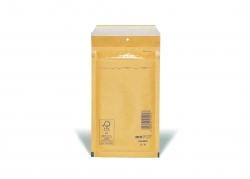 Luftpolstertaschen Nr. 2, 120x215 mm, goldgelb/braun, 200 Stück