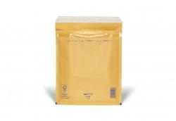 Luftpolstertaschen Nr. 5, 220x265 mm, goldgelb/braun, 100 Stück