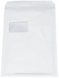 Luftpolstertaschen Nr. 4 mit Fenster, 180x265 mm, weiß, 100 Stück