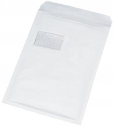 Luftpolstertaschen Nr. 7 mit Fenster, 230x340 mm, weiß, 100 Stück