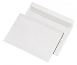 Versandtaschen C4, ohne Fenster, haftklebend, 100 g/qm, weiß, 500 Stück