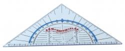 Geometrie-Dreieck ohne Griff KUM SOFTIE®FLEX 160 mm