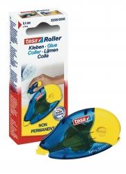 Roller ecoLogo Kleben Non Permanent - 14 m x 8,4 mm, blau