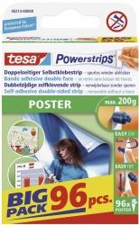 Powerstrips® Poster - ablösbar, Tragfähigkeit 200 g, weiß, 96 Stück