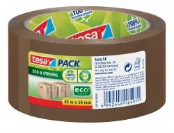 Verpackungsklebeband tesapack® Eco & Strong, 66 m x 50 mm, braun