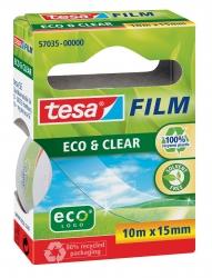 Eco & Clear - unsichtbar, Bandgröße (L x B): 10 m x 15 mm