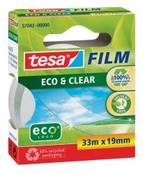 Eco & Clear - unsichtbar, Bandgröße (L x B): 33 m x 19 mm