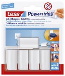 Powerstrips® Kabel-Clip - Kabel bis Ø 8 mm, weiß
