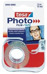 Abroller für doppelseitigen Klebefilm Photo Film, 7,5 m x 12 mm, transparent