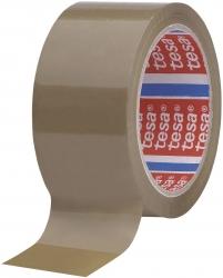 Verpackungsklebeband tesapack® 4195, PP, 66 m x 50 mm, braun