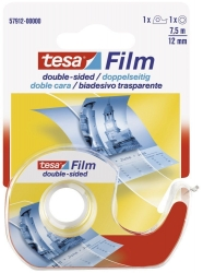 tesafilm®  doppelseitig klebend, beidseitig Bandgröße (L x B): 7,5 m x 12 mm