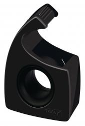 Handabroller für Klebefilm - tesa Easy Cut®, 10 m x 19 mm, schwarz