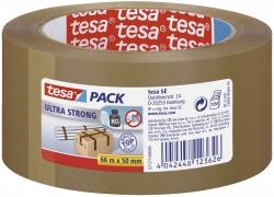 Verpackungsklebeband tesapack® Ultra Strong, PVC, 66 m x 50 mm, braun
