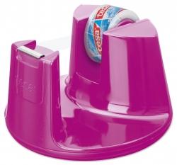 Tischabroller Easy Cut Compact - für Rollen bis 15 mm x 10 m, pink